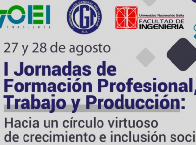 """El Presidente del CRUP participará de las """"Primeras jornadas de formación profesional, trabajo y producción"""""""