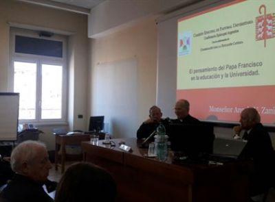 Comenzó el encuentro de Rectores y académicos argentinos en el Vaticano