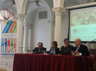 EL CRUP FORMÓ PARTE DEL ACTO LANZAMIENTO DE LA FERIA INTERNACIONAL DE EDUCACIÓN SUPERIOR ARGENTINA 2018