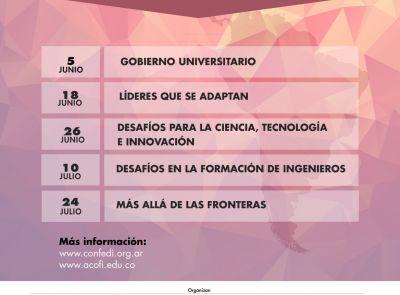 El Presidente del CRUP disertará en un conversatorio sobre Gobierno Universitario