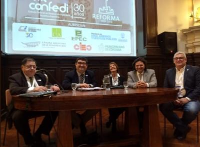 Giordano Lerena finalizó su presidencia en el CONFEDI