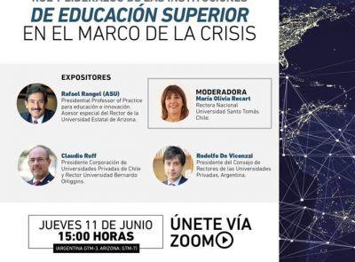 Rol y liderazgo de las instituciones de Educación Superior en el marco de la crisis