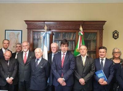 Rodolfo De Vincenzi se reunió con el Primer Ministro de Italia y con el Presidente del CUIA en Roma
