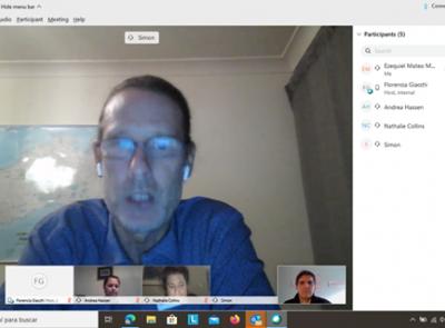 Reunión virtual con la Edith Cowan University (ECU) de Australia y la Embajada de Australia en Argentina)