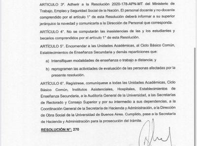 El Ministerio de Educación difunde recomendaciones preventivas contra el coronavirus (COVID-19)